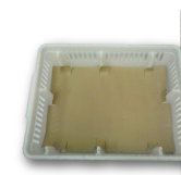 Chicken Box with slotted pad